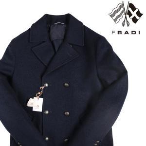 FRADI コート メンズ 秋冬 50/XL ネイビー 紺 フラディ 並行輸入品|utsubostock