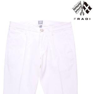 【32】 FRADI フラディ コットンパンツ メンズ ホワイト 白 並行輸入品 ズボン utsubostock
