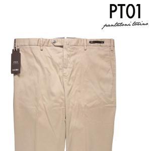 PT01 コットンパンツ メンズ 52/2XL ベージュ TT22 CD ピーティー ゼロウーノ 大きいサイズ 並行輸入品|utsubostock