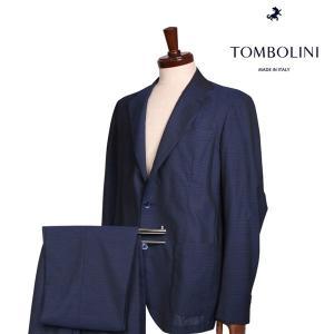 【48】 TOMBOLINI トンボリーニ スーツ メンズ 春夏 ネイビー 紺 並行輸入品|utsubostock