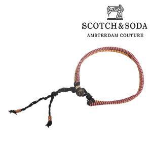 SCOTCH&SODA ブレスレット メンズ ピンク スコッチアンドソーダ 並行輸入品|utsubostock