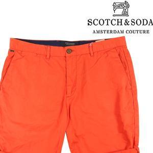 SCOTCH&SODA ハーフパンツ メンズ 春夏 オレンジ スコッチアンドソーダ 並行輸入品|utsubostock