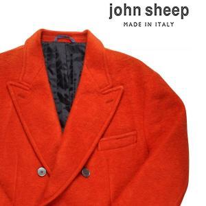【52】 JOHN SHEEP ジョン・シープ コート メンズ 秋冬 オレンジ 並行輸入品 アウター トップス 大きいサイズ|utsubostock