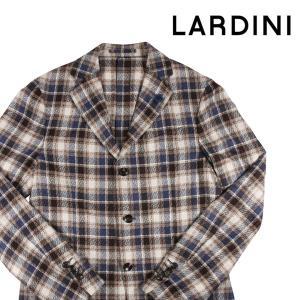 LARDINI ジャケット メンズ ベージュ 46/M シルク100% 並行輸入品|utsubostock