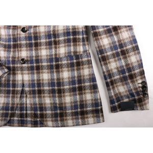 LARDINI ジャケット メンズ ベージュ 46/M シルク100% 並行輸入品|utsubostock|04