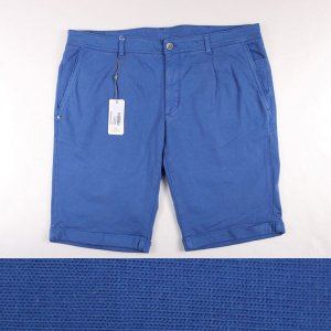 Domenico Tagliente ハーフパンツ メンズ 春夏 52/2XL ブルー 青 ドメニコ・タリエンテ 大きいサイズ 並行輸入品|utsubostock