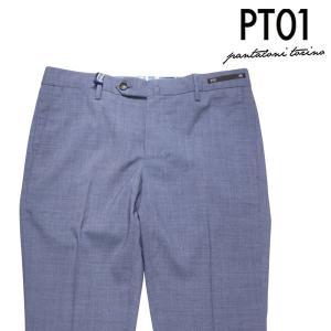 PT01 パンツ メンズ 春夏 46/M ネイビー 紺 ヴァージンウール混 CPK7NS ピーティー ゼロウーノ 並行輸入品|utsubostock