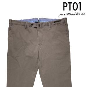 PT01 コットンパンツ メンズ 54/3XL ベージュ CODC01 ピーティー ゼロウーノ 大きいサイズ 並行輸入品|utsubostock