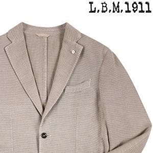 【50】 L.B.M.1911 エルビーエム ジャケット 2857 メンズ 春夏 リネン混 ベージュ 並行輸入品 アウター トップス|utsubostock