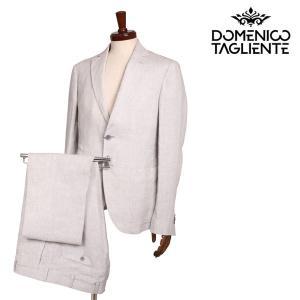 【48】 Domenico Tagliente ドメニコ・タリエンテ スーツ メンズ 春夏 千鳥 ホワイト 白 並行輸入品|utsubostock