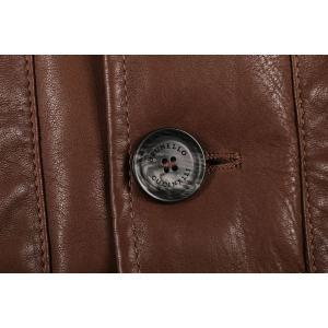 BRUNELLO CUCINELLI ダウンベスト CS369 brown x gray M【W17536】|utsubostock|03