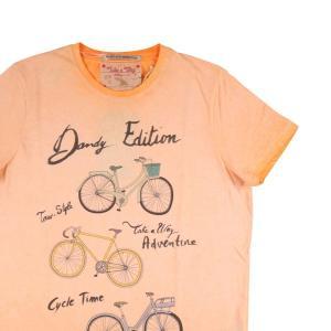 Take a Way Uネック半袖Tシャツ メンズ オレンジ S/44 並行輸入品|utsubostock