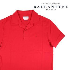 BALLANTYNE 半袖ポロシャツ メンズ 春夏 M/46 レッド 赤 GMW012 バランタイン 並行輸入品|utsubostock