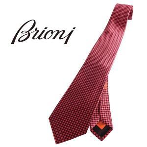 Brioni ネクタイ メンズ ブラック 黒 シルク100% 12000 ブリオーニ 並行輸入品|utsubostock
