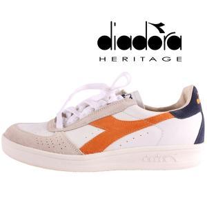 【44.5】 diadora HERITAGE sigma スニーカー メンズ ホワイト 白 レザー 並行輸入品 大きいサイズ|utsubostock