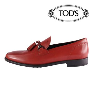 TOD'S 革靴 MORSETTO brown 40.5 17758【A17759】|utsubostock