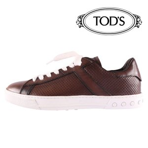 TOD'S スニーカー ALL ETICHETTA MET brown 40【A17785】 トッズ|utsubostock