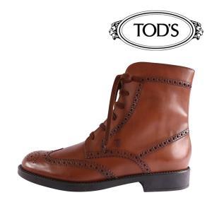 【8】 TOD'S トッズ ブーツ STIV,ALL,BUCATUREESQUIREGIOVANE メンズ 秋冬 ブラウン 茶 レザー 並行輸入品|utsubostock
