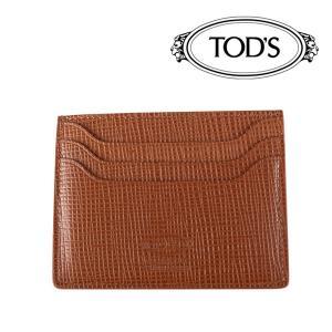 TOD'S カードケース PORTACARTEDICREDITO brown 17791BR【A17791】 トッズ|utsubostock