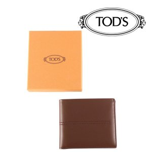 TOD'S 財布 PFOGLIOC.C brown【A17794】 トッズ|utsubostock