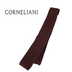 CORNELIANI シルク100% ネクタイ 381036607 721U303 brown【A17807】|utsubostock