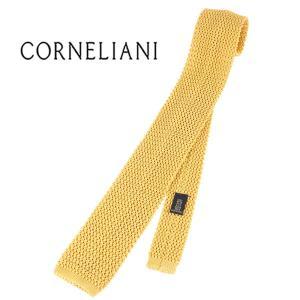 CORNELIANI シルク100% ネクタイ 7210392-071 79U303-1 yellow【A17810】|utsubostock