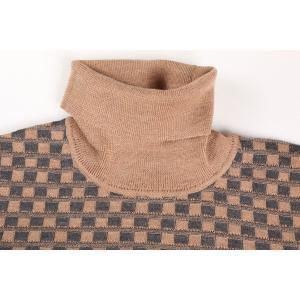 +39 masq タートルネックセーター メンズ 秋冬 L/48 ベージュ ヴァージンウール100% マスク 並行輸入品|utsubostock|03