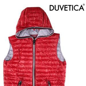 DUVETICA ダウンベスト メンズ 秋冬 50/XL レッド 赤 CEO デュベチカ 並行輸入品|utsubostock