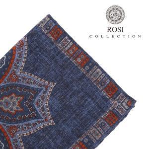 ROSI COLLECTION ロージコレクション ポケットチーフ メンズ 秋冬 ネイビー 紺 並行輸入品|utsubostock