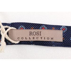 ROSI COLLECTION ロージコレクション 蝶ネクタイ メンズ シルク100% ネイビー 紺 並行輸入品|utsubostock|04