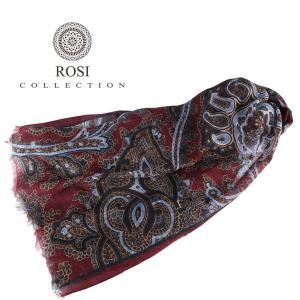ROSI COLLECTION ストール メンズ 秋冬 レッド 赤 ロージコレクション 並行輸入品 utsubostock
