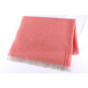 ROSI COLLECTION ストール メンズ 秋冬 ピンク カシミヤ100% ロージコレクション 並行輸入品|utsubostock|02