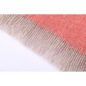 ROSI COLLECTION ストール メンズ 秋冬 ピンク カシミヤ100% ロージコレクション 並行輸入品|utsubostock|04