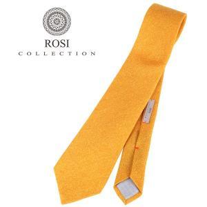 ROSI COLLECTION ネクタイ メンズ 秋冬 イエロー 黄 ロージコレクション 並行輸入品|utsubostock