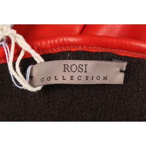 ROSI COLLECTION グローブ メンズ 秋冬 全長24cm/中指8.5cm ブラウン 茶 レザー カシミヤ100% ロージコレクション 並行輸入品|utsubostock|05