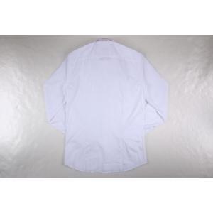 【38】 Gallia ガリア 長袖シャツ メンズ ホワイト 白 並行輸入品 ビジネスシャツ|utsubostock|04