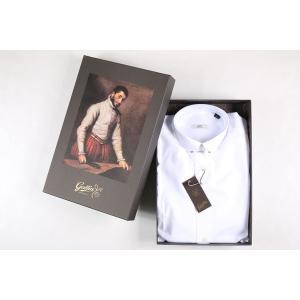 【38】 Gallia ガリア 長袖シャツ メンズ ホワイト 白 並行輸入品 ビジネスシャツ|utsubostock|06