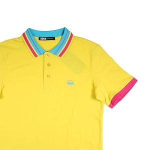 DOOA 半袖ポロシャツ メンズ 春夏 XL/50 イエロー 黄 ドーア 並行輸入品 utsubostock