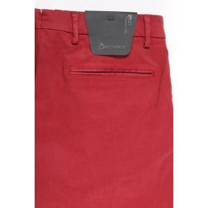 B SETTECENTO コットンパンツ メンズ 32/L レッド 赤 ビーセッテチェント 並行輸入品|utsubostock|05