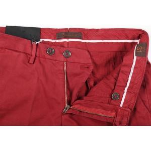 B SETTECENTO コットンパンツ メンズ 32/L レッド 赤 ビーセッテチェント 並行輸入品|utsubostock|06