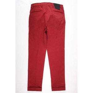 B SETTECENTO コットンパンツ メンズ 33/XL レッド 赤 ビーセッテチェント 並行輸入品|utsubostock|04