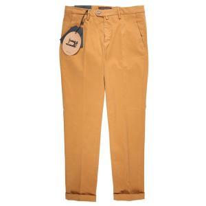 【30】 B SETTECENTO ビーセッテチェント コットンパンツ メンズ イエロー 黄 並行輸入品 ズボン|utsubostock|02