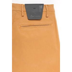 【40】 B SETTECENTO ビーセッテチェント コットンパンツ メンズ イエロー 黄 並行輸入品 ズボン 大きいサイズ|utsubostock|05