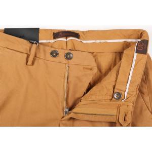 【40】 B SETTECENTO ビーセッテチェント コットンパンツ メンズ イエロー 黄 並行輸入品 ズボン 大きいサイズ|utsubostock|06