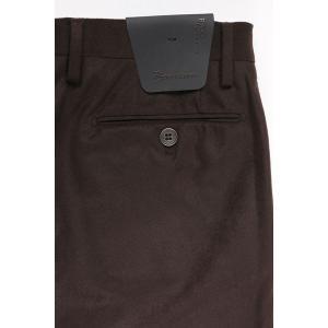 B SETTECENTO スラックス メンズ 秋冬 31/M ブラウン 茶 ビーセッテチェント 並行輸入品|utsubostock|05