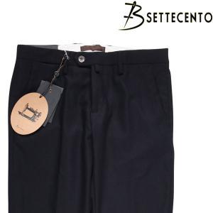【34】 B SETTECENTO ビーセッテチェント スラックス メンズ 秋冬 ネイビー 紺 並行輸入品 ズボン 大きいサイズ|utsubostock