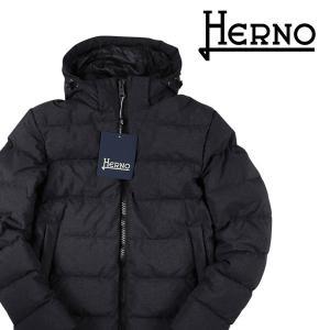 HERNO ダウンジャケット メンズ 秋冬 48/L グレー 灰色 PI0522U POLAR TECH ヘルノ 並行輸入品|utsubostock