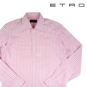 ETRO 長袖シャツ メンズ 39/M ホワイト 白 エトロ 並行輸入品|utsubostock