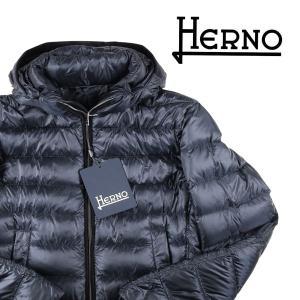 【48】 HERNO ヘルノ ダウンジャケット PI0494U メンズ 秋冬 ネイビー 紺 並行輸入品 アウター トップス|utsubostock