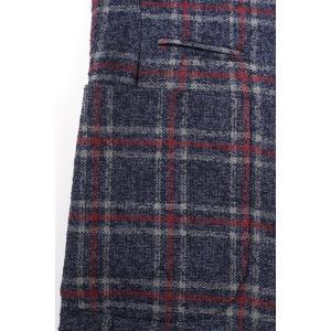 【52】 GIACCHE ジャッケ ジャケット メンズ 秋冬 チェック ネイビー 紺 並行輸入品 アウター トップス 大きいサイズ|utsubostock|08